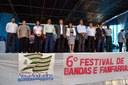 Vereadores participam do 6º Festival de Bandas e Fanfarras