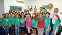 Alunos da Escola Mundo da Criança visitam a Câmara Municipal