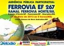 """Audiência Pública """"Nova Andradina e o Vale do Ivinhema querem ferrovias"""""""