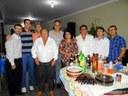 Nenão participa de reunião da comunidade nordestina