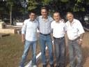Vereadores acompanham mutirão de limpeza em espaços públicos