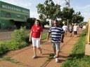 Vereador participa de atividade física no Bairro Morada do Sol