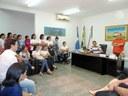 Servidores da Prefeitura reúnem-se com vereadores e expõem anseios da categoria