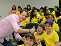 """Escola na Câmara"" recebe 200 alunos"