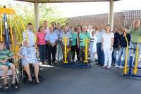Academia para idosos do Lar Sagrado Coração de Jesus é inaugurada
