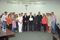 Comunidade evangélica Sara Nossa Terra recebe moção de parabenização
