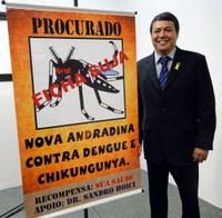 Ações para combate à dengue são cobradas por Dr. Sandro