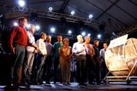 Amarelinho participa de sorteio de prêmios da Acina