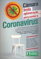 Câmara de Nova Andradina adota medidas para prevenção contra o coronavírus