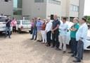 Câmara prestigia entrega de veículo para Semcias