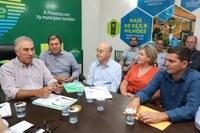 Câmara se reúne com Governador para tratar de demandas do município