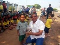 Cido Pantanal participa de ato em celebração do Dia da árvore