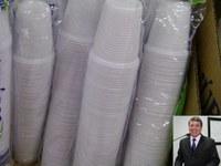 Com foco na preservação ambiental, Dr. Sandro propõe substituição de copos descartáveis