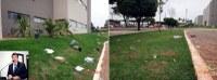 Depredação de espaço público preocupa Dr. Sandro