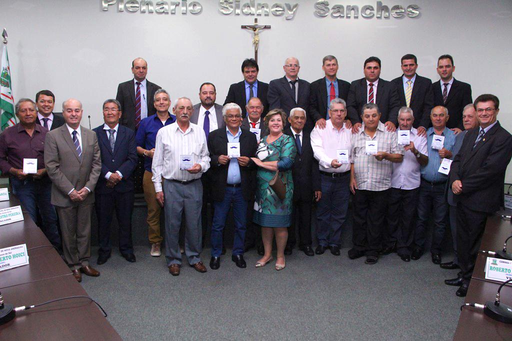 Dia dos Pais é celebrado em Sessão Solene na Câmara