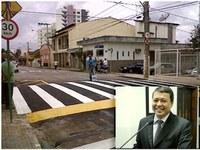 Dr. Sandro pede passarela elevada para pedestres nas imediações da Praça Queneciano Cecílio de Lima