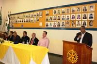 Em cerimônia de posse, Presidente da Câmara ratifica parceria ao Rotary Club e Interact de Nova Andradina