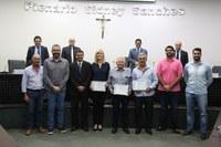 Engenheiros são homenageados durante sessão ordinária