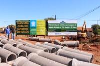 Executivo atende indicação e pavimenta ruas do Bairro Vila Beatriz