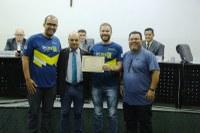 Jornada Esportiva Estadual da AABB é destacada em Moção de Parabenização