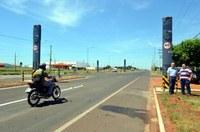 Lombadas eletrônicas são instaladas em Nova Andradina