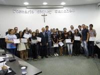 Ministério Jovem Eternos Apaixonados recebe moção de parabenização