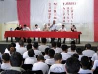 Presidente da Câmara ressalta importância do projeto social Bombeiro Mirim