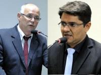 Robertinho e Ricardo solicitam calçamento nas proximidades de escolas