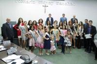 Miss Nova Andradina 2019 ganha destaque em sessão da Câmara