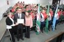 Moção marca aniversário de 36 anos da Banda Marcial Getúlio Vargas