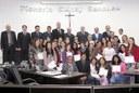 Projeto envolvendo crianças e idosos recebe moção de parabenização