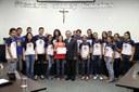 Associação de Basquetebol recebe moção de parabenização na Câmara