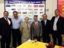 Nenão e Valter participam de evento para recepcionar o Governador do Rotary International em Nova Andradina