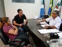 Presidente do Legislativo atende moradores que reivindicam infraestrutura em bairro