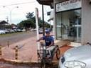 Cadeirantes enfrentam dificuldade de locomoção em Nova Andradina