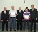 Policiais do 8º Batalhão da PM de Nova Andradina recebem moção de parabenização