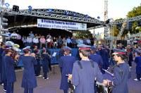 Vereadores prestigiam Festival de Bandas e Fanfarras