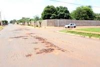 Recuperação de vias urbanas pauta indicações de Cido Pantanal