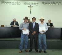 Salva Vidas de Rodeio são reconhecidos com moção na Câmara
