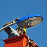 Valter Yasunaka propõe substituição das lâmpadas queimadas no Portal do Parque