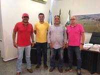 Vereadores recebem visita de Assessor Especial do Governador