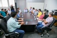 Visita institucional fortalece relações entre Câmara e Prefeitura