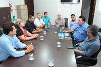 Visita institucional reforça parceria entre Câmara de UCVMS