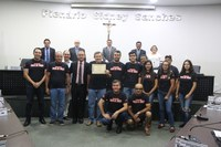 Wilson Almeida homenageia Pata de Onça Bike Clube pela 6ª Ultramaratona